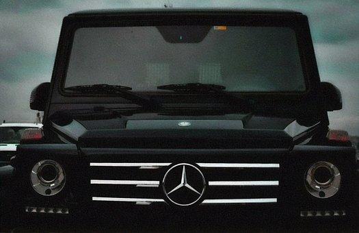 Mercedes, Car, Vehicle, Front, Auto, Automobile