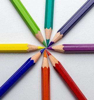 Pencil, Color, School, Drawing, Colorful, Pencils