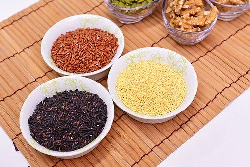 Food, Millet, Rice, Dry, Cereals, Grains
