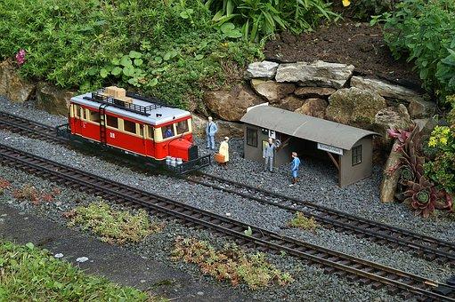 Lgb Model Railways, Miniature, Train, Lgb, Stop