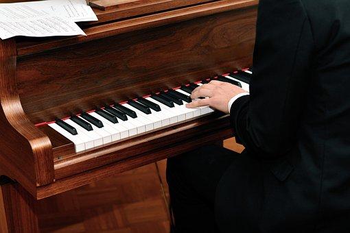 Piano, Pianist, Music, Musical Instrument