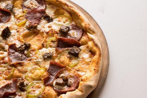 Pizza, Cheese, Dough, Italian, Slice, Gourmet, Food