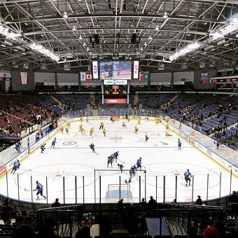 Hockey, Sports, Skating, Sport, Helmet, Puck, Mask, Ice