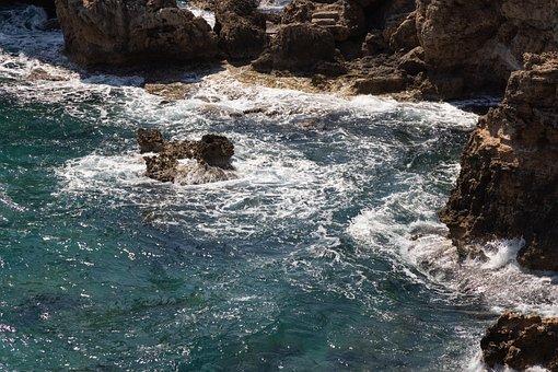 Sea, Waves, Coast, Cliff, Rocky Coast, Rock