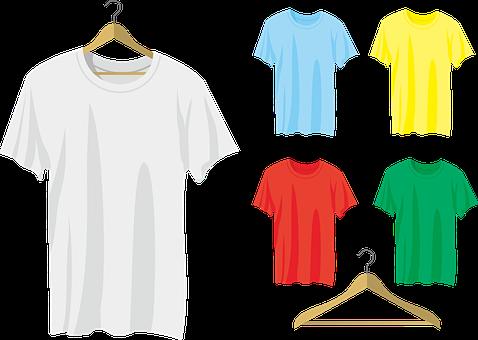 Blank Shirt, Shirt, Blank, T-shirt, White, Jersey