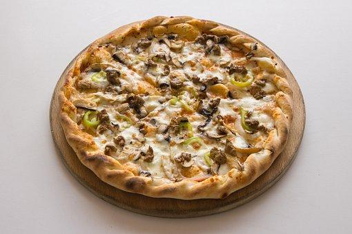 Pizza, Slice, Cheese, Italian, Gourmet, Food, Dough