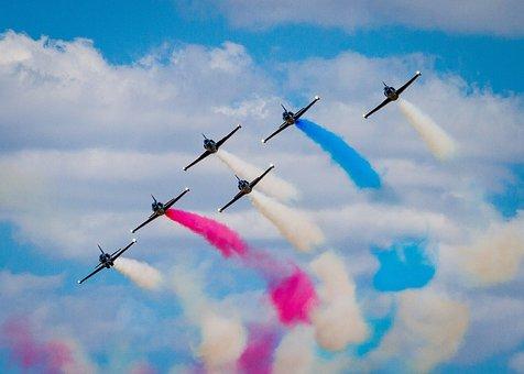 Air Show, Reno Air Races, Stunt, Airplane, Flight