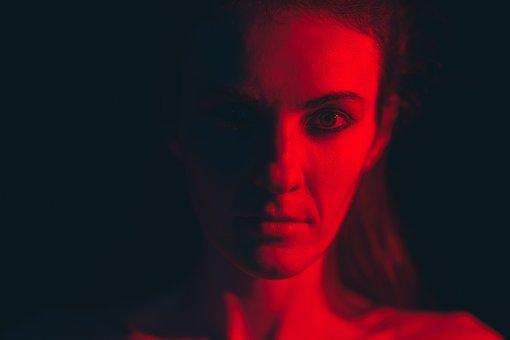 Woman, Light, Portrait, Dark, Face, Head, Beauty