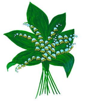 Lily Of The Valley, Spring, Snowflake, Bear's Garlic