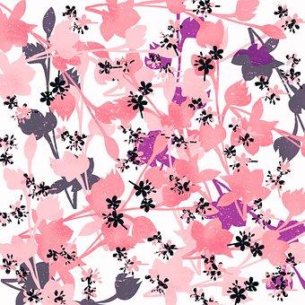 Flowers, Pastel, Pink, Decorative, Floral, Bloom