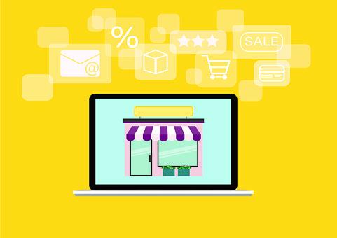 Laptop, E Commerce, Business, E-commerce, Purchasing