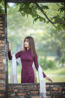 Ao Dai, Fashion, Woman, Vietnamese