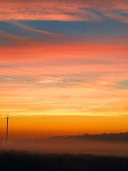 Sky, Morning, Sunrise, Nature, Landscape, Dawn, Clouds