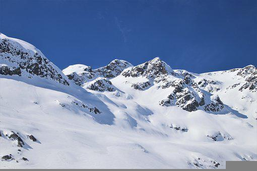 White, Snow, Peak, The Alps, Magic Snow, Rocks