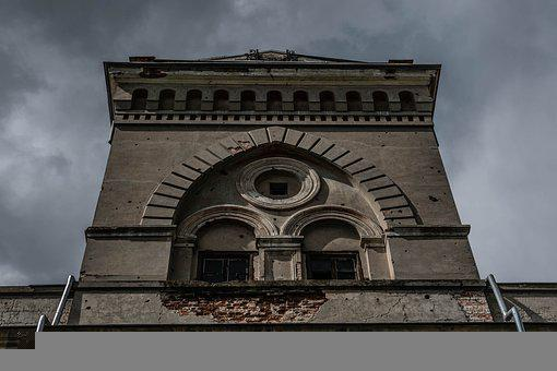 Fortress, Building, Abandoned, Militaria, Tower, Facade
