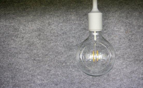 Light Bulb, Energy, Current, Light, Idea, Pear, Lamp