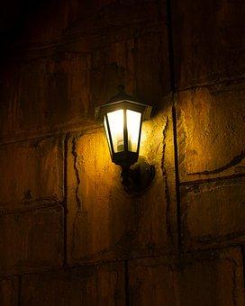 Lamp, Light, Outside, Electricity, Bulb, Glow, Energy
