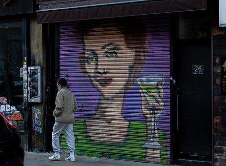 Graffiti, Urban, Wall, Vandalism, Paint, Grunge, Street