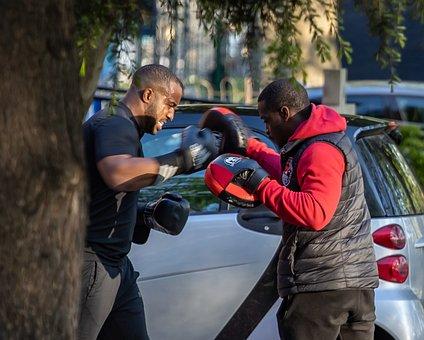 Training, Boxing, Kickboxing, Sport, Punch, Sports