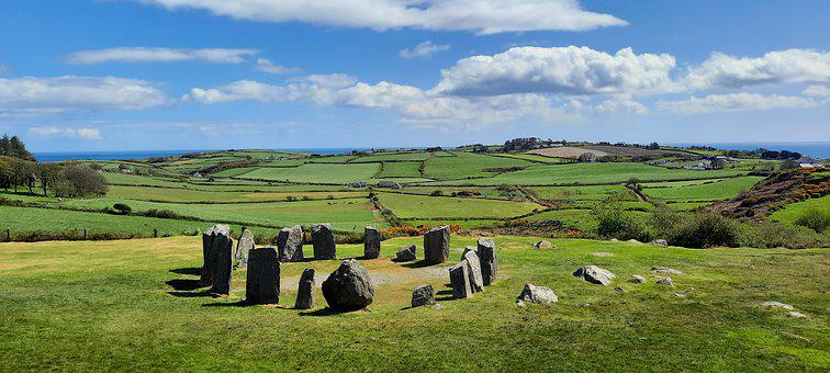 Ireland, Megalithic, Stone, Circle, Prehistoric, Site