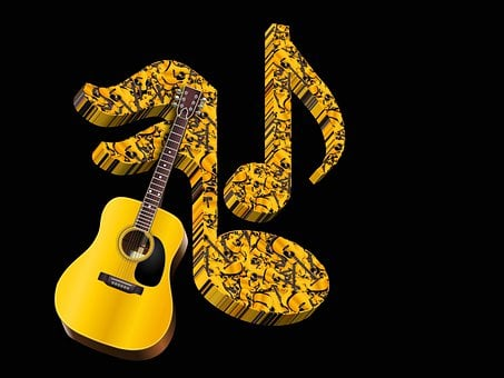 Music, Sound, Musical Note, Guitar, Entertainment