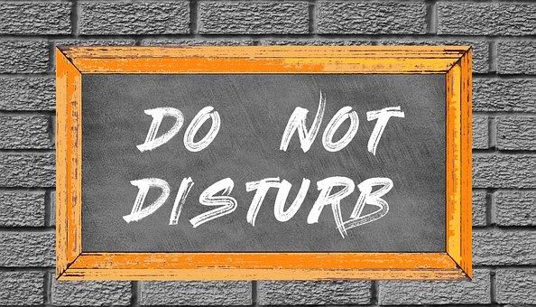 Blackboard, Board, Rustic, Not Disturb, Classroom