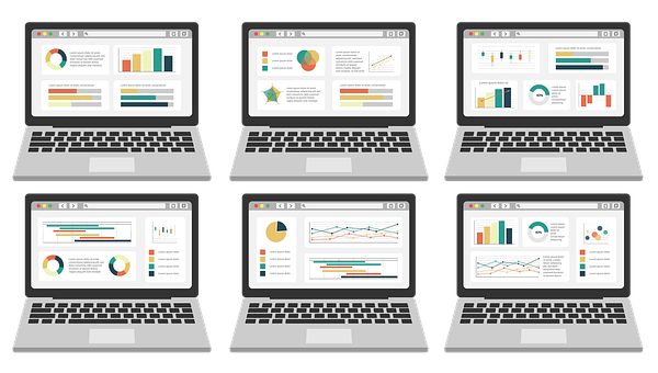 Graph, Charts, Stats, Data, Metrics, Business, Excel