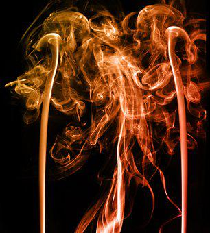 Smoke, Abstract, Pattern, Color, Creative, Design