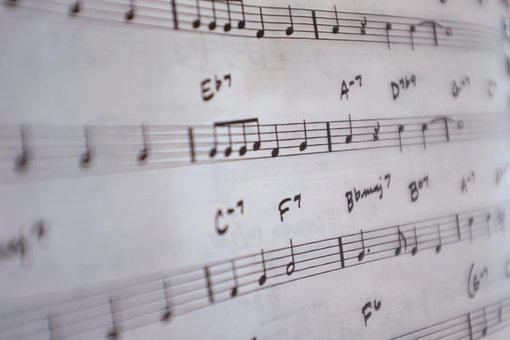 Notes, Music, Musical Notes, Melody, Note Book, Song