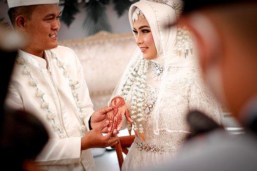 Wedding, Muslim, Couple, Islam, Religion, Indonesian