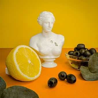 Statue, Venus, Hand, Summer, Bright, Juicy, Rome