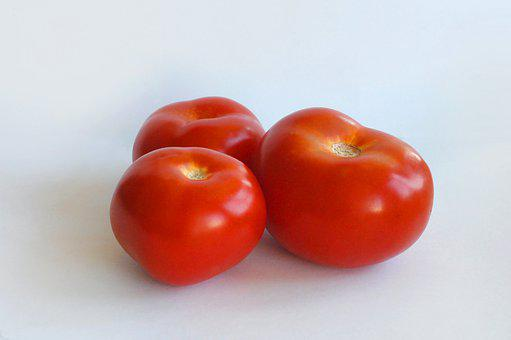 Tomatoes, Tomato, Three, Red, Nutrition, Vegetables