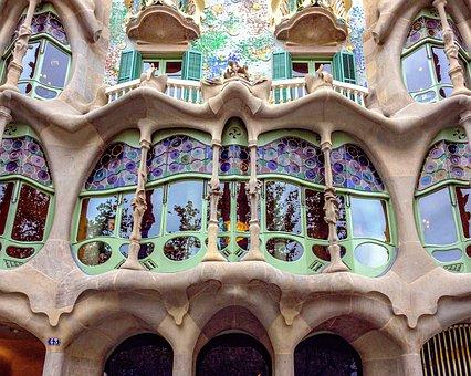 Barcelona, Building, Catalan Modernism, Gaudí