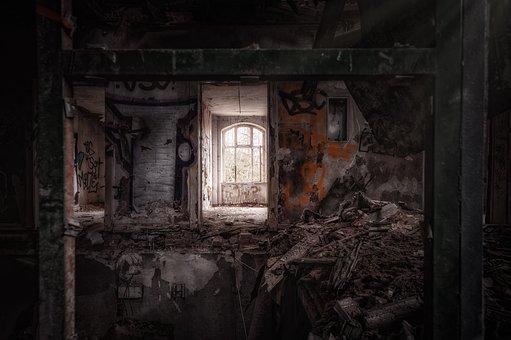 House, Abandoned, Ruin, Haunted House, Gloomy, Fantasy