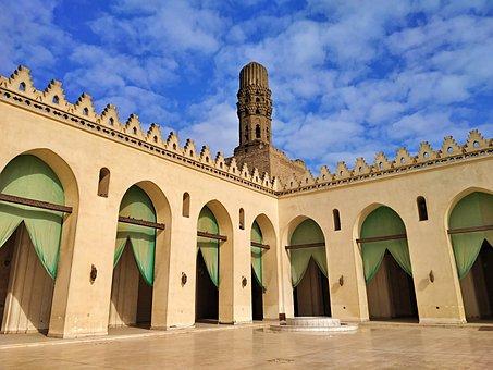 Al-hakim, Mosque, Egypt, Al-anwar, Cairo, Historical