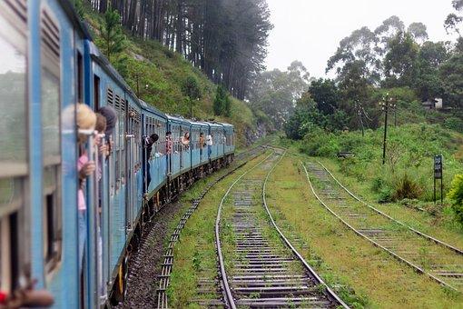 Sri Lanka, Train, Travel, Tourism, Passengers, Railroad