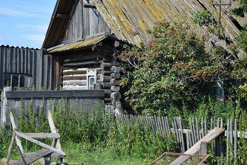 House, Old, Wood, Roof, Village, Building, Nostalgia