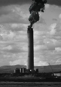 Industrial, Tower, Smoke, Industry, Pollution, Factory