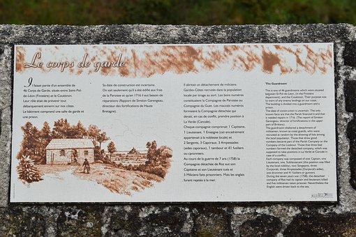 Description, Tourist Plaque, Explicit Plate