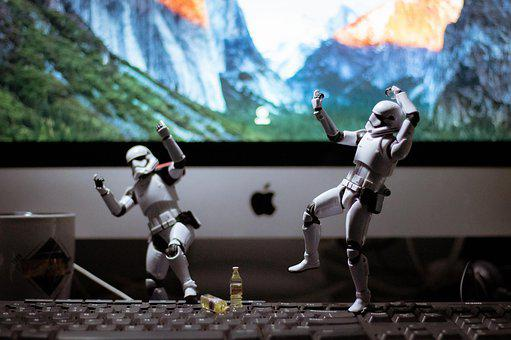Stormtroopers, Star Wars, Toys, Soldiers, Lego, Jedi