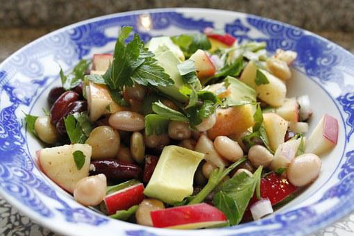 Healthy, Bean Salad, Avocado Salad