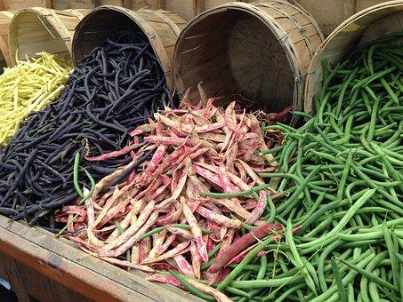 Beans, Leguminous Plants, Legumes, Green, Edible