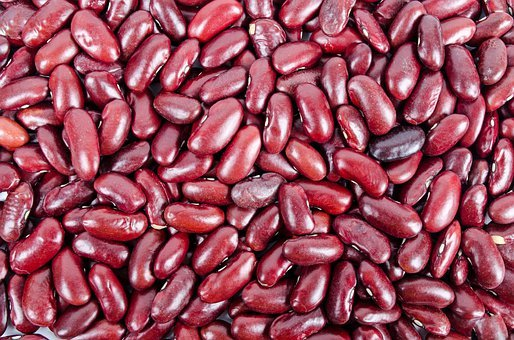 Beans, Kidney, Pile, Heap, Nobody, Many, White, Red