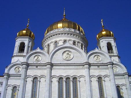 Church, Russian Orthodox Church, Believe, Moscow
