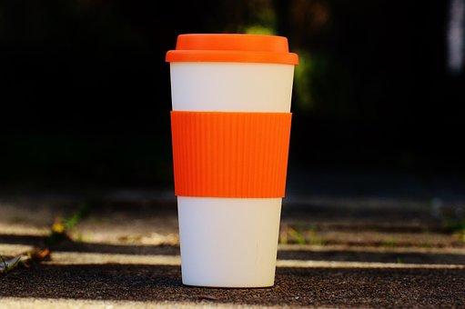 Coffee To Go, Trinkbecher, Coffee, On The Go, Break