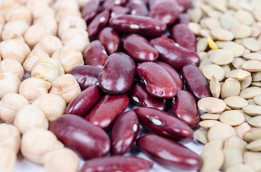 Agriculture, Assortment, Background, Bean, Black, Brown