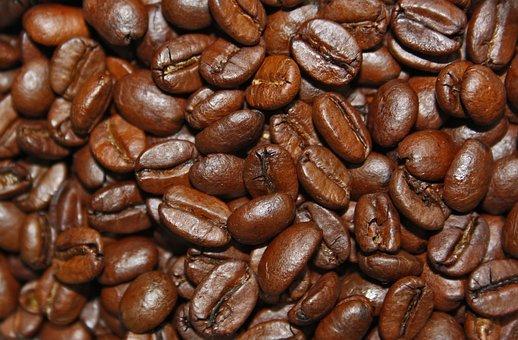 Coffee, Coffee Beans, Aroma, Roasted, Cafe, Caffeine