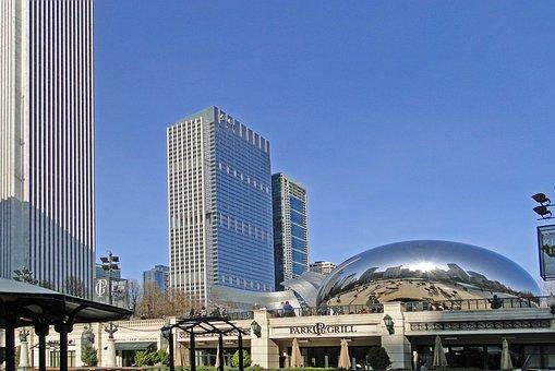 Chicago Bean, Chicago, Illinois, Architecture, City
