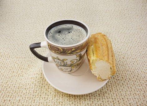 Food, Breakfast, Dessert, Coffee, Baking, Choux Pastry