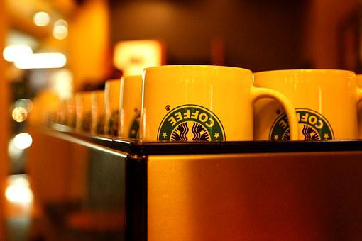 Glass, Coffee, Starbucks, Coffee Shop, Atmosphere